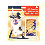 New York Mets MLB Team Logo Night Light and outlet Cover Combo