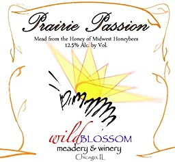NV Wild Blossom Meadery & Winery Prairie Passion Mead 750 mL