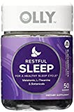 OLLY Restful Sleep Gummy Supplements, Blackberry Zen, 4Pack ( 100 Count Each ) Azmxsl
