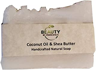 product image for Handmade Soap – Coconut Oil and Shea Butter Soap Bar – 100% Natural and Organic Ingredients – Moisturizing - for Women, Men, All Skin Types 4 OZ