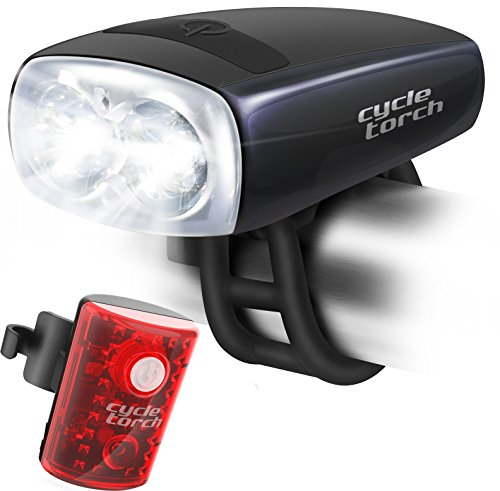Cycle Torch Night Owl Bike Light USB Rechargeable - Perfect Urban Commuter...