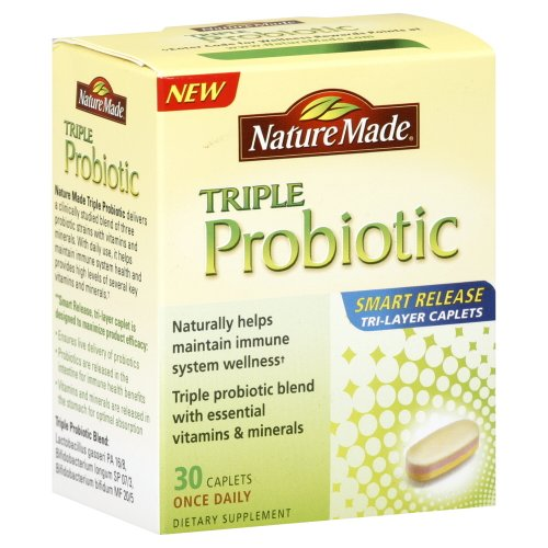 Nature Made Triple probiotique, 30-Comte