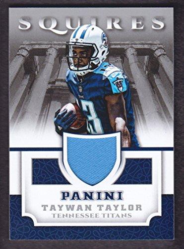 2017 Panini Football Squires Jersey #SQ-TT Taywan Taylor Tennessee Titans