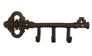 GUSSEISEN GARDEROBE WANDGARDEROBE GARDEROBENHAKEN ANTIK NOSTALGIE STIL NEU Antiques