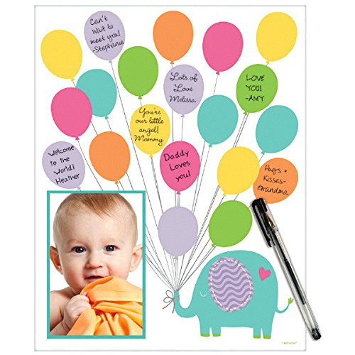 Adorable Baby Shower Autograph Matte - Fits 4 x 6 inch Photo