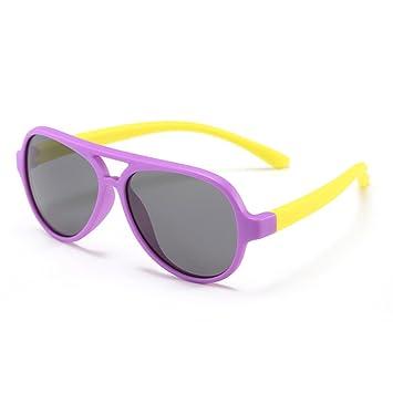 Gran Oval Personalidad Niños Gafas de Sol Lentes polarizadas ...