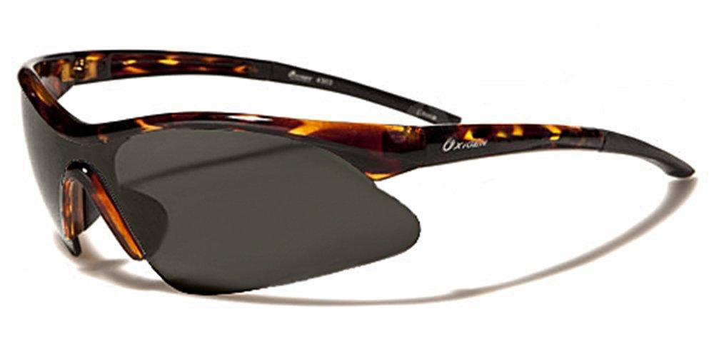 Occhiali da Sole Oxygen - Sport - Ciclismo - Sci - Driving - Moto - Tennis - Running / Mod. 4300 Marrone Cristallo Maculato