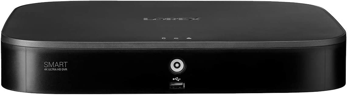 D861A82B 8 Channel 4K Ultra HD 2TB DVR with Smart Motion Detection and Smart Home Voice Control