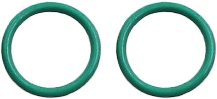 X AUTOHAUX 20pcs Green Universal KFM O-Ring Seal Gasket for Car 10 x 1mm