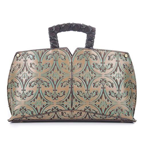 Luxury Brand Women Handbags Designer Female Genuine Leather Handbag Messenger Shoulder Bags Top-Handle Bags Tote Hobos,Light Green