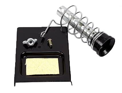 Portátil™ Kobwa desmontable soldador soporte Base con esponja de resorte (3 UNIDADES piezas)