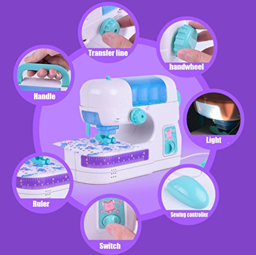 Voberry Electric Sewing Studio Machine Sew Intelligence Activities Toy For Girls Kids by Voberry