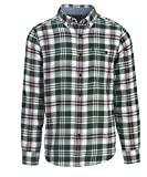 Woolrich Men's Trout Run Flannel Shirt, Pine Grove, Large