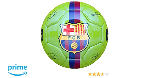 JOSMA SPORT - Balón Mediano F.C. Barcelona Away 18/19 Verde ...