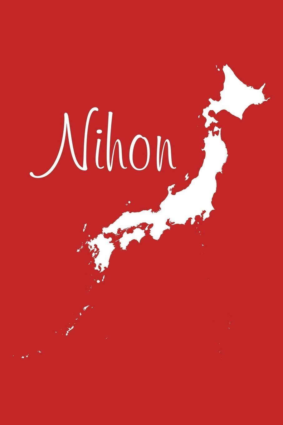 Read Online Nihon - Red 101 - Lined Notebook with Margins - 6X9: 101 Pages, Medium Ruled, 6 x 9 Journal, Soft Cover ebook