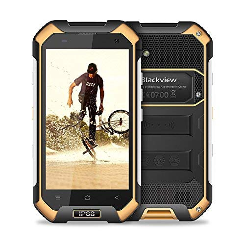 TALLA BV6000. Blackview BV6000 Smartphone Libre IP68 Impermeable a Prueba de Polvo a Prueba de Golpes Dual Sim, 3GB RAM + 32GB ROM 4500mAh Cámara de 13+5 MP Pantalla 4,7