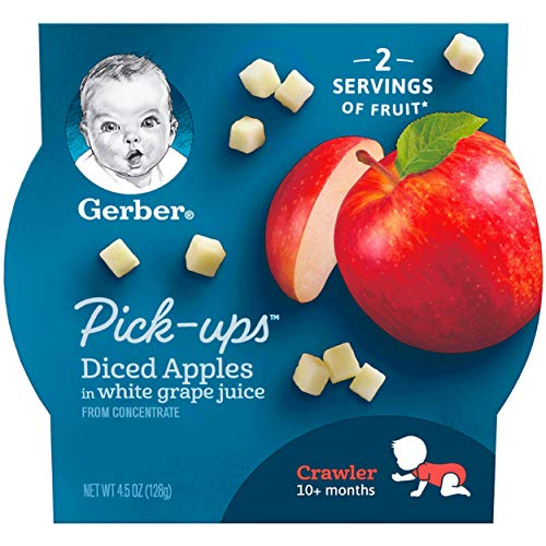 Gerber Graduates Fruit Pick Ups - Diced Apples, 4.5-Ounce (Pack of - Ravioli Carrot