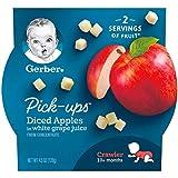 Gerber Pick-ups, Diced Apples in White Grape