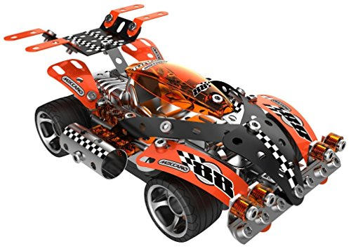 erector meccano turbo remote control racing car fast import it all. Black Bedroom Furniture Sets. Home Design Ideas