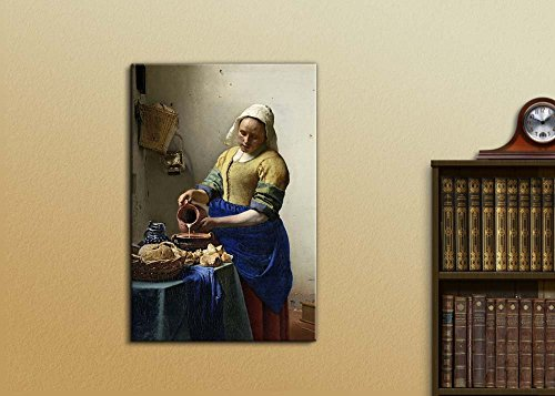 The Kitchen Milkmaid Maid by Vermeer
