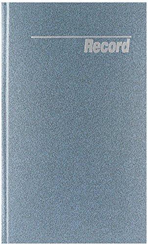 NATIONAL Granite Series Record Book, Patina Blue, 12.25 x 7.25