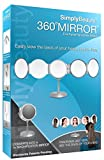 Simply Beauty 360 Degree Makeup Vanity Mirror with 5x Magnification
