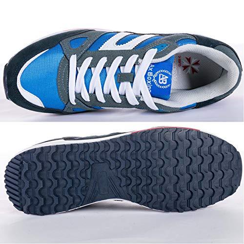 Chaussure De Boxing Axe Multisport Course Chaussures Hommes Baskets Pied A8333 blue Femmes Sport AxqxwRnz