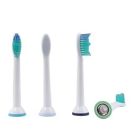 sorliva 4pcs cabezales para cepillo de dientes eléctrico para philips Sonicare ProResult hx6530 HX6014 HX6013: Amazon.es: Hogar