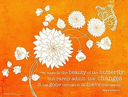 Amazoncom Jaguar Educational Delight In Beauty Maya Angelou Quote