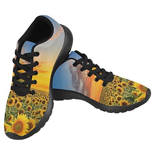 InterestPrint Womens Jogging Running Sneaker Lightweight Go Easy Walking Casual Comfort Running Shoes Multi 15