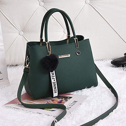 per appendere Borsa tracolla Xmy moda da Khaki Wild Handbags Stereo donna Simple Female Borsa a UZHSqTRaU