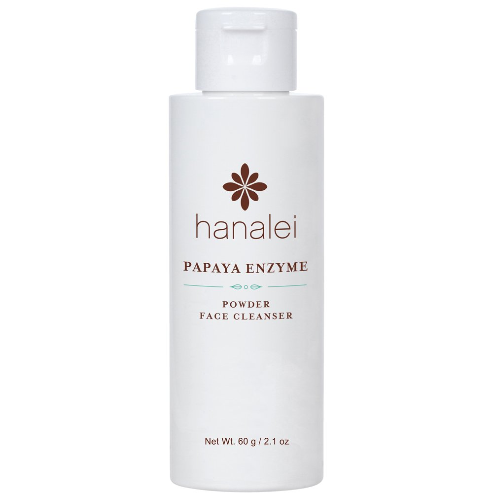 Powder Face Cleanser by Hanalei (Cruelty free, Paraben free) (Papaya 60g) by Hanalei Company