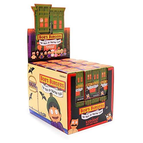 Kidrobot Bob's Burgers Trick Or Treating Tour Blind Box Mini Figure 1 Full Case of 24 Blind Boxes