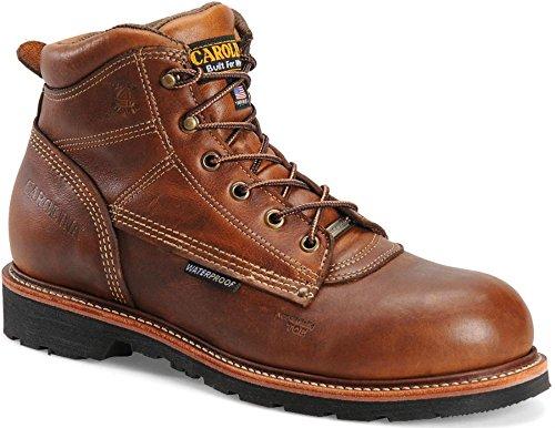 Wolverine Men's Moc Toe Chukka STL 5 Inch Work Boot, Brown,