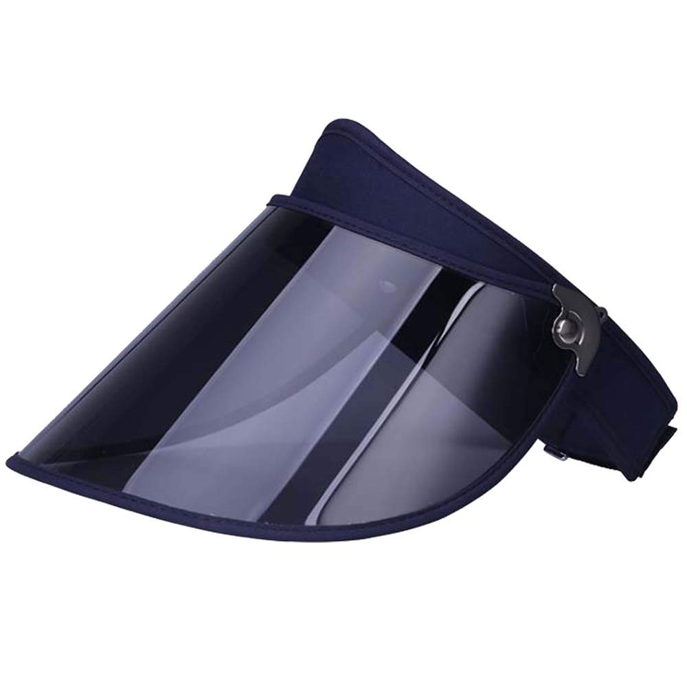 Sun Visor Full Face Shield UV Protection Hat Cap with Adjustable Headband for Driving Jogging Golf Camping Outdoors