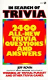 In Search of Trivia, Jeff Rovin, 0451162501