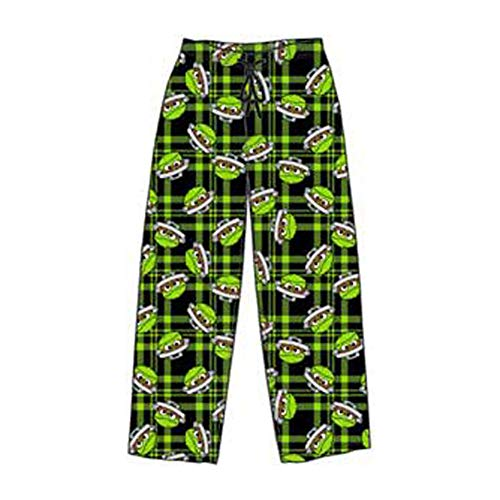 Sesame Street Men's Character Pajama Sleep Pants (Medium, Oscar The Grouch) ()