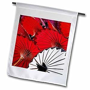Danita Delimont - Crafts - Decorative umbrella crafts, Bo Sang, Chiang Mai, Thailand-AS36 AJE0249 - Adam Jones - 18 x 27 inch Garden Flag (fl_71325_2)