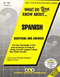 What Do You Know about Spanish?, Rudman, Jack, 0837371120