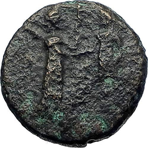 200 GR KYME in AEOLIS 200BC Artemis Amazon Apollo Chario coin Good ()