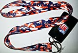 NFL Denver Broncos Team Color Camouflage Lanyard