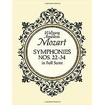 Symphonies Nos. 22-34 in Full Score