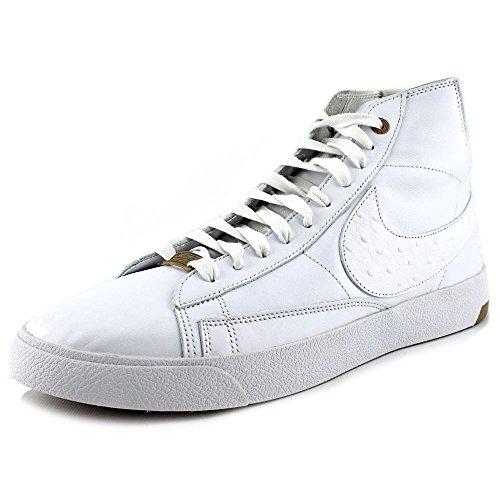 Nike Mens Blazer Lux PRM QS White/Pure Platinum Leather Size 12