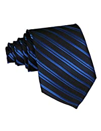 TANGDA Casual Mens Party Wedding Neck Tie Polyester Necktie 10 Stripes Available