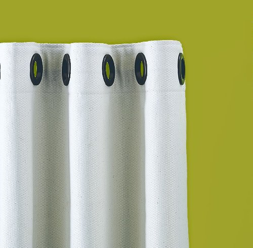 Rufflette Jupiter Eyelet Curtain Heading Tape By The Metre Inc 9 Rings