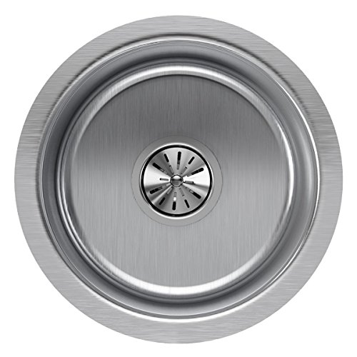 Elkay Lustertone ELUH12FB Single Bowl Undermount Stainless Steel Kitchen ()