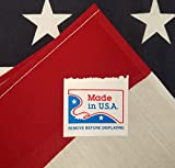 american flag made in usa - American Flag US Flag - 100% Made in USA - 3x5 FT American Flags/USA Flag/Office Flags/Tough American Flag Banner for Outside/Amercan Flag/American Flgs/US Flags/American Flag 3x5