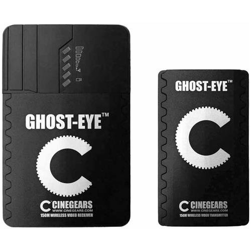 Cinegears Ghost-Eye 150m Wireless HDMI & SDI Video Transmission Kit, Includes Transmitter and Receiver