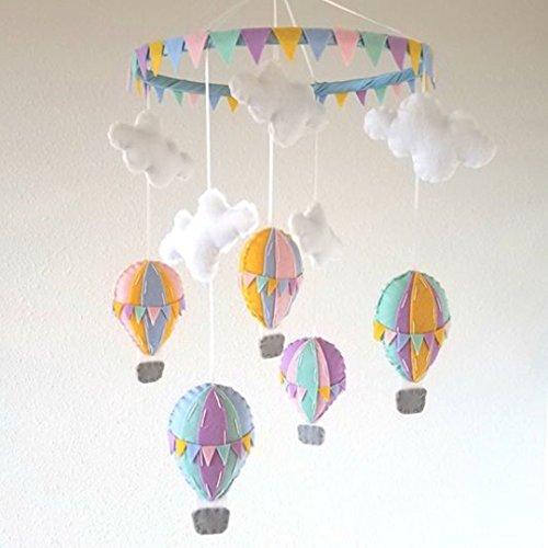 Hot Air Balloon Baby Mobile (Classic Hot Air Balloon)