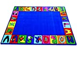 My ABC Squares Kids Rug Rug Size: 6'6'' x 8'4''